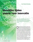 Image for Moeilijke tijden  impuls voor innovatie