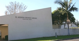 El Modena Branch Library