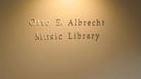 Otto E. Albrecht Music Library