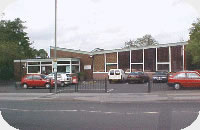 Lostock Hall Library