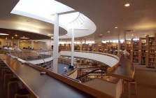 Mount Angel Abbey Library designed by the Finnish architect Alvar Aalto