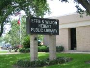Effie and Wilton Hebert Public Library