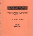 Image for Scatchard analysis: easy-to-use program for fast analysis of one-site ligand binding, on the IBM PC series