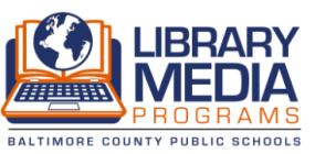 Baltimore City Public Schools Library Media Services