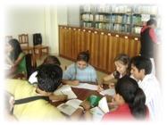 Biblioteca Central de la Universidad Nacional Amazónica de Madre de Dios