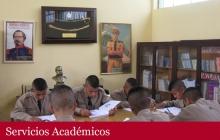 Biblioteca del Colegio Militar Elías Aguirre