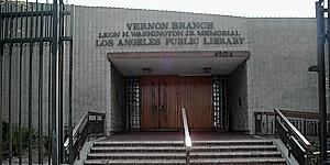 Vernon – Leon H. Washington Jr. Memorial Branch Library
