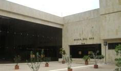 La biblioteca se encuentra en el Museo del Oro