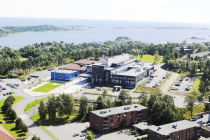 Agder University Library campus Grimstad<br />copyright UiA Olav Breen