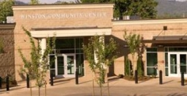 The Winston Library is located in the <br />Winston Community Center