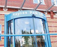 Raynes Park Library