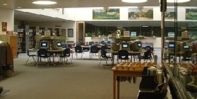 Hood River Valley High School Library