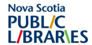 Nova Scotia Public Libraries