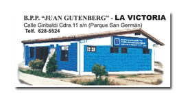 Biblioteca Pública Periférica Juan Gutemberg